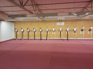Sportlövészet az APLE lőtéren